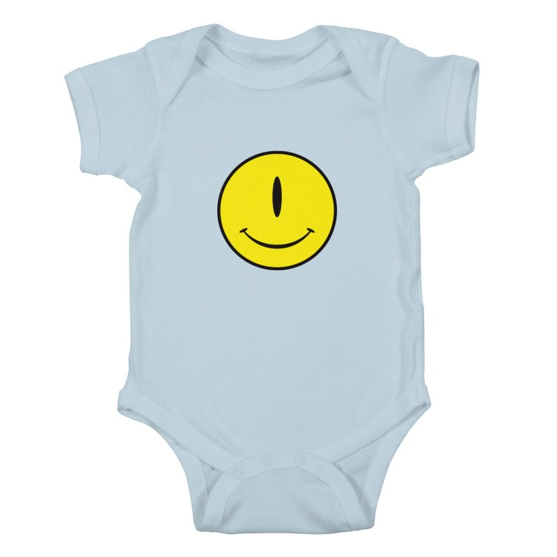Happy Cyclops Kids Baby Bodysuit by Numb Skull