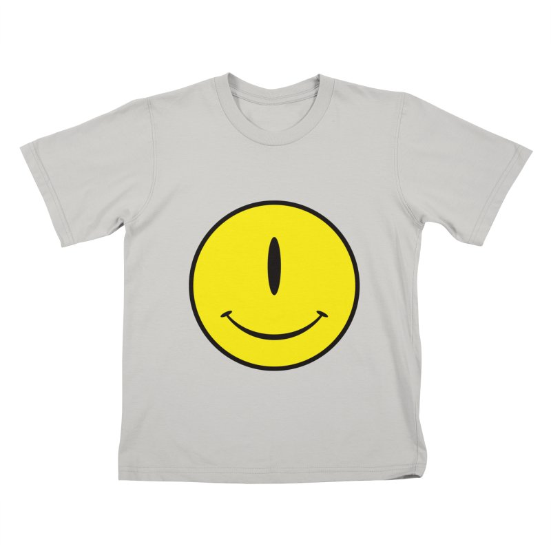 Happy Cyclops Kids T-shirt by Numb Skull
