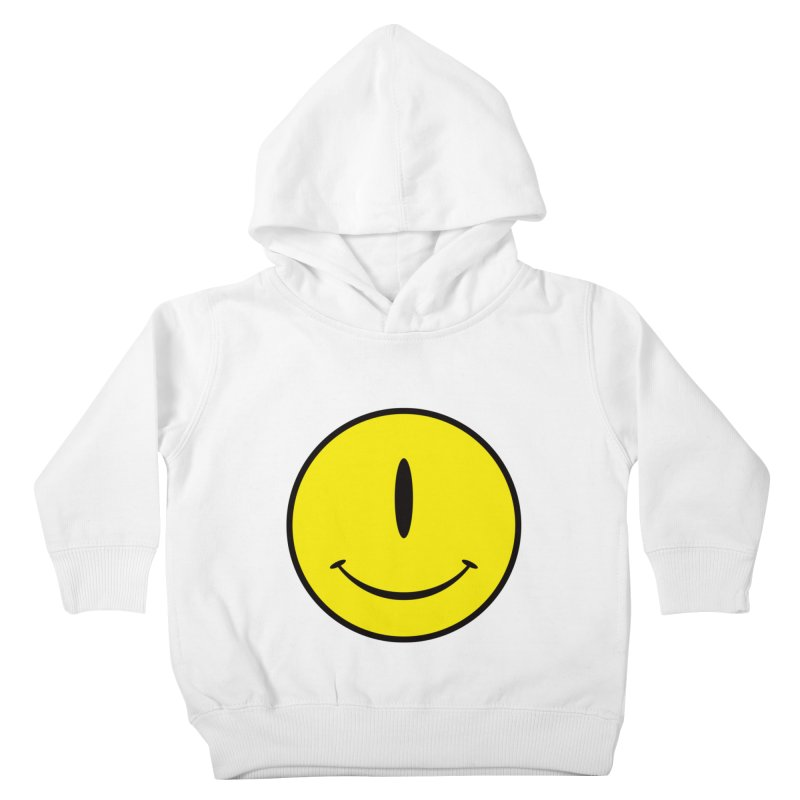 Happy Cyclops Kids Toddler Pullover Hoody by Numb Skull