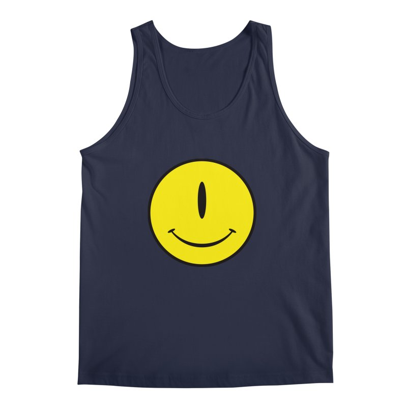 Happy Cyclops Men's Tank by Numb Skull