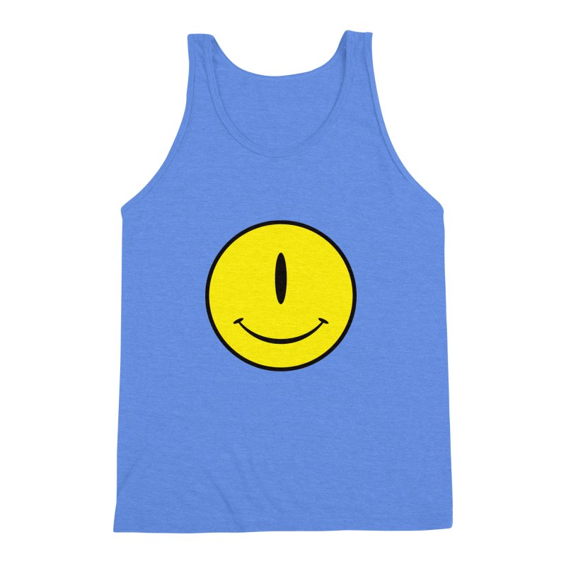 Happy Cyclops Men's Triblend Tank by Numb Skull