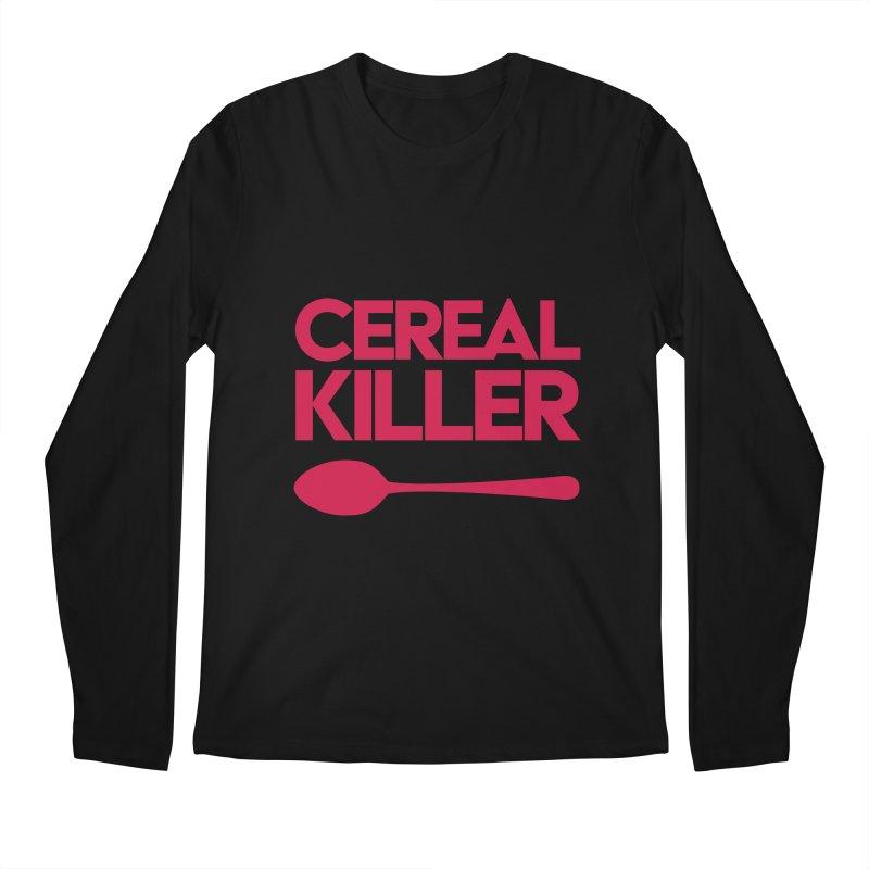 Cereal Killer Men's Longsleeve T-Shirt by Numb Skull