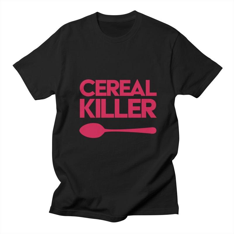 Cereal Killer Women's Unisex T-Shirt by Numb Skull