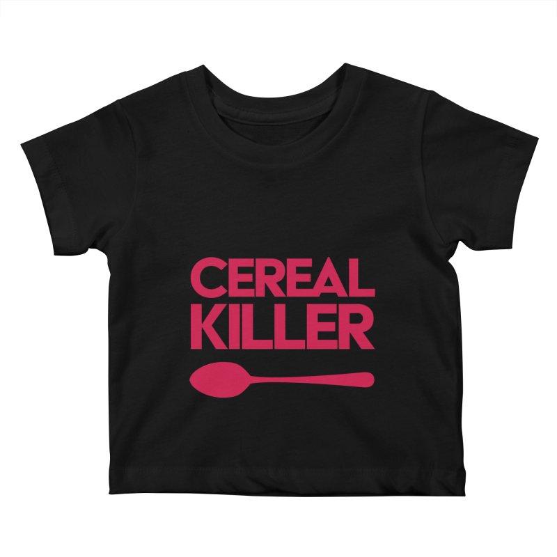 Cereal Killer Kids Baby T-Shirt by Numb Skull
