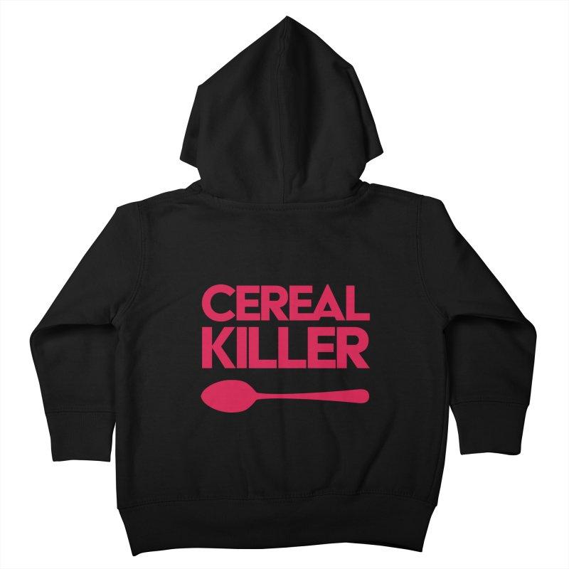 Cereal Killer Kids Toddler Zip-Up Hoody by Numb Skull