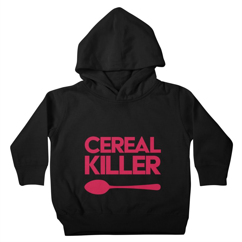 Cereal Killer Kids Toddler Pullover Hoody by Numb Skull