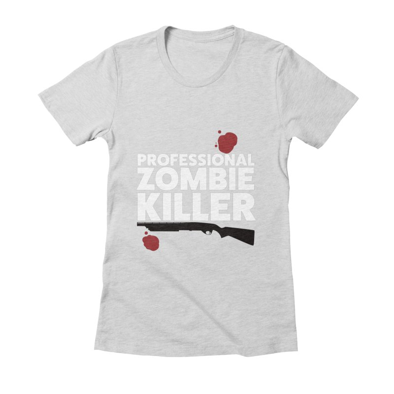 PRO Women's Fitted T-Shirt by Numb Skull