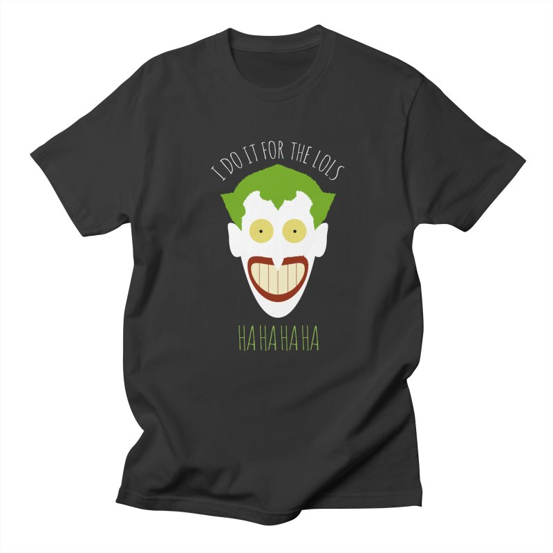 LOLS Women's Unisex T-Shirt by Numb Skull