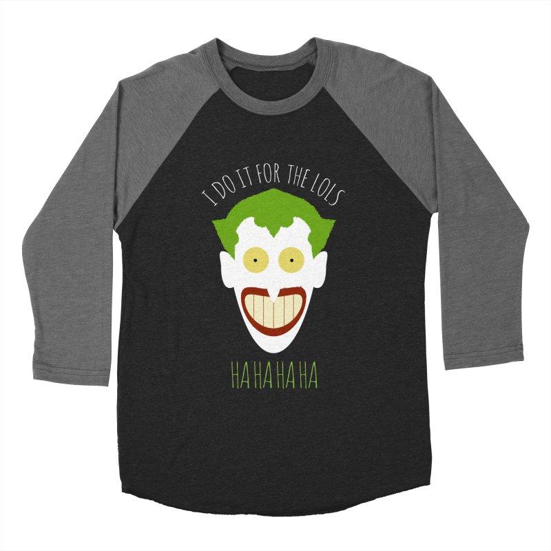 LOLS Men's Baseball Triblend T-Shirt by Numb Skull