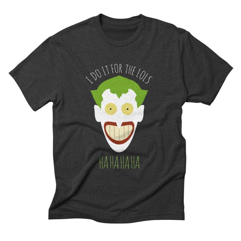 LOLS Men's Triblend T-shirt by Numb Skull