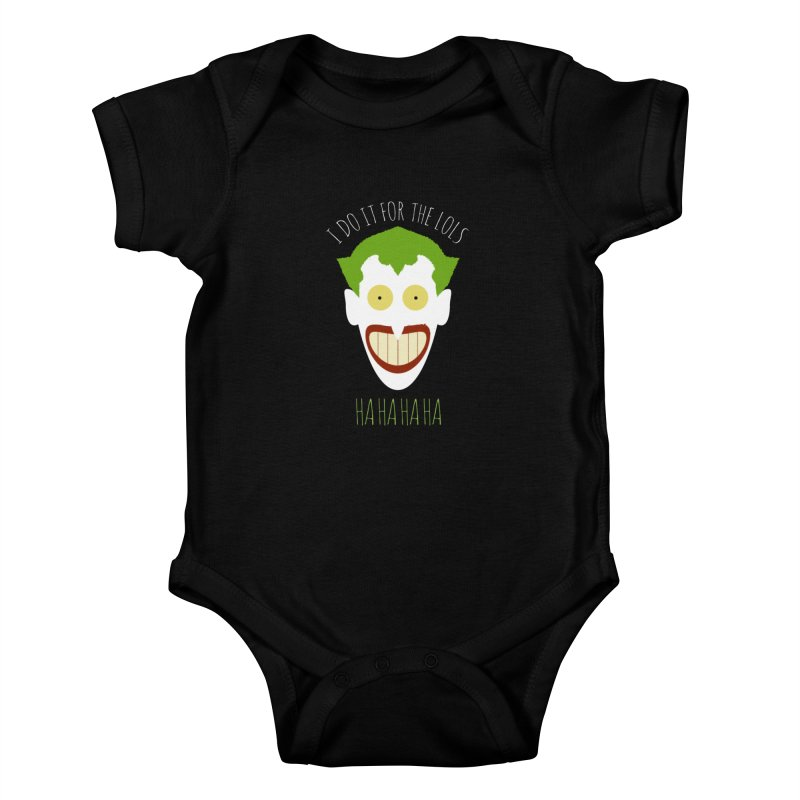 LOLS Kids Baby Bodysuit by Numb Skull