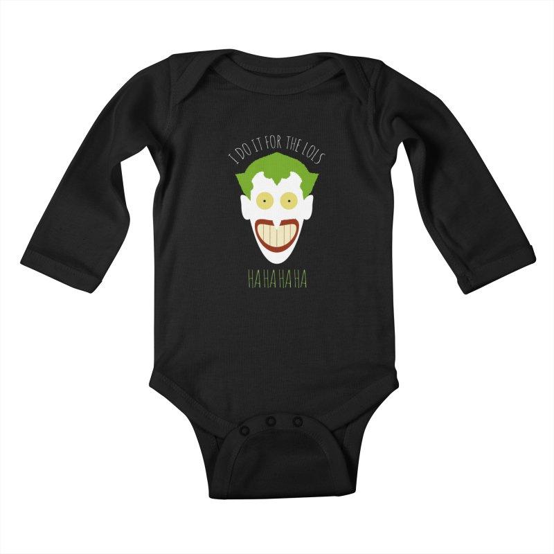 LOLS Kids Baby Longsleeve Bodysuit by Numb Skull
