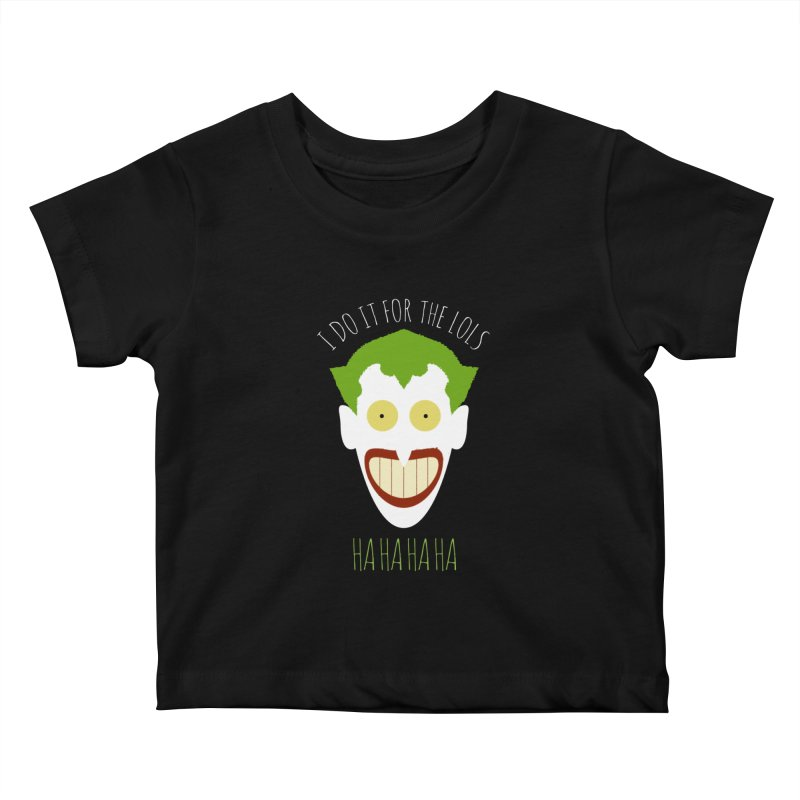 LOLS Kids Baby T-Shirt by Numb Skull