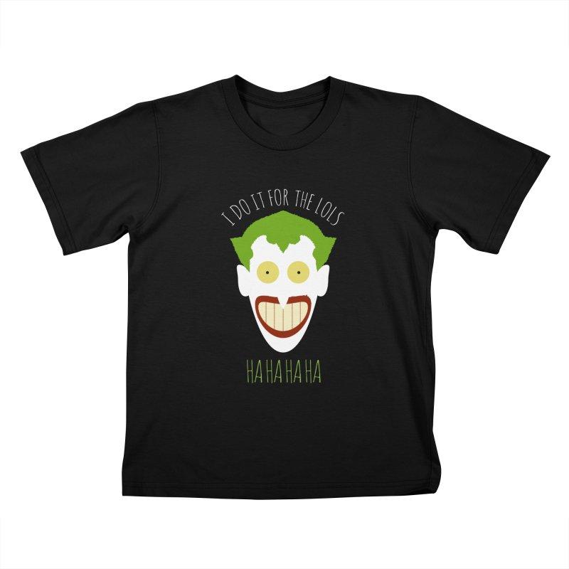 LOLS Kids T-shirt by Numb Skull