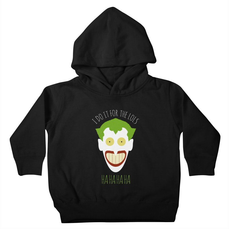 LOLS Kids Toddler Pullover Hoody by Numb Skull
