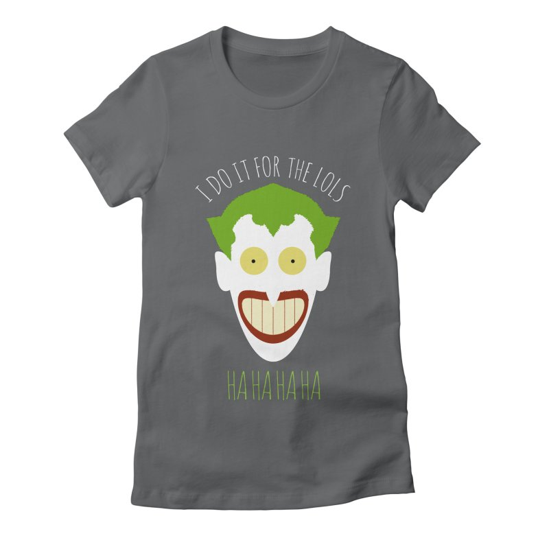 LOLS Women's Fitted T-Shirt by Numb Skull