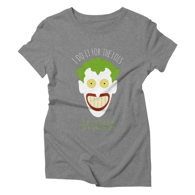LOLS Women's Triblend T-shirt by Numb Skull