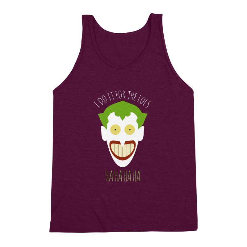 LOLS Men's Triblend Tank by Numb Skull