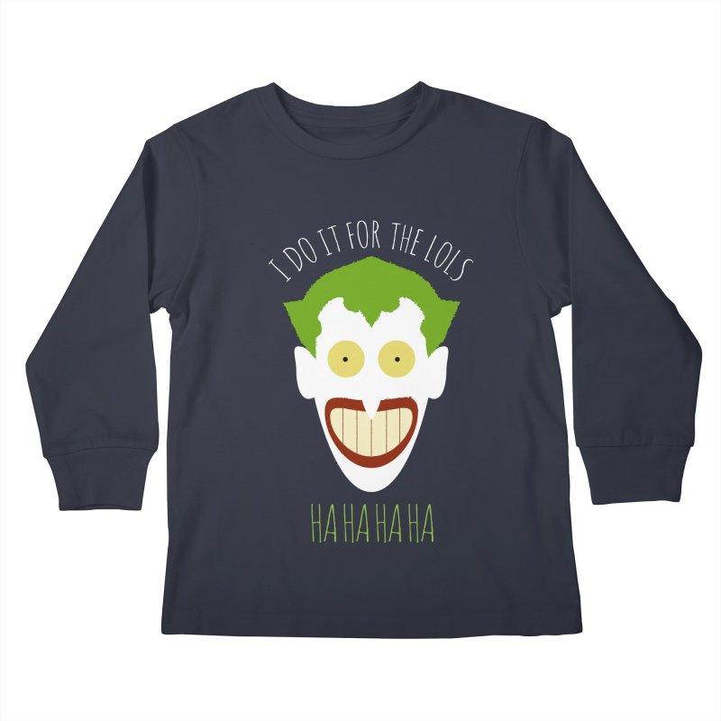 LOLS Kids Longsleeve T-Shirt by Numb Skull