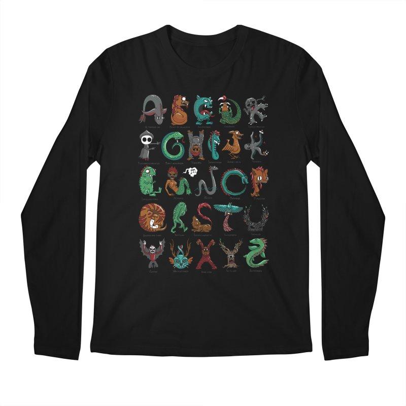 Cryptids Men's Regular Longsleeve T-Shirt by nutz's Artist Shop