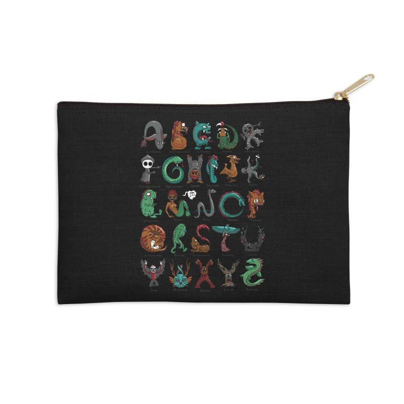 Cryptids Accessories Zip Pouch by nutz's Artist Shop