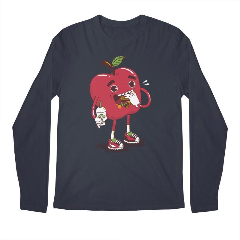 Junkapple Men's Regular Longsleeve T-Shirt by nutz's Artist Shop