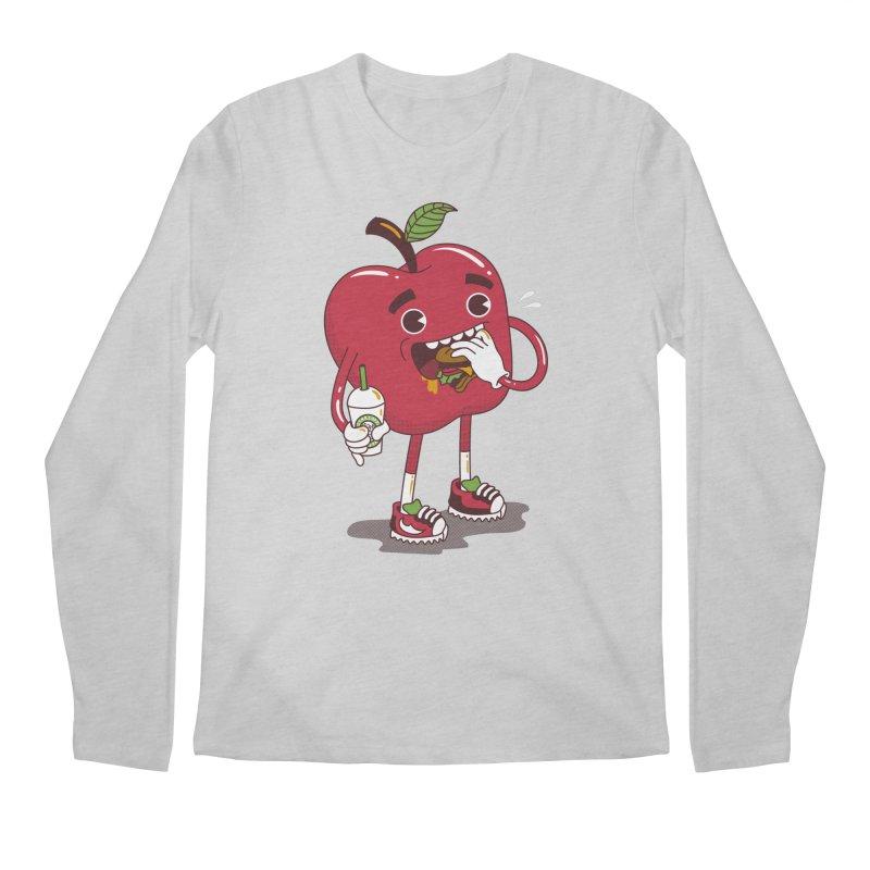 Junkapple Men's Longsleeve T-Shirt by nutz's Artist Shop