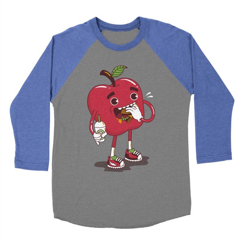 Junkapple Women's Baseball Triblend T-Shirt by nutz's Artist Shop