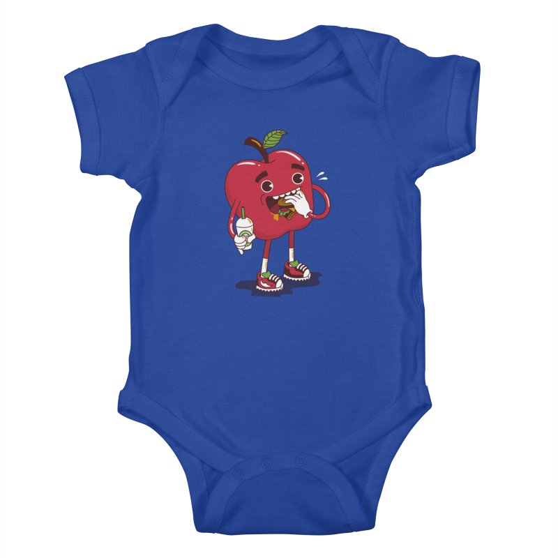 Junkapple Kids Baby Bodysuit by nutz's Artist Shop