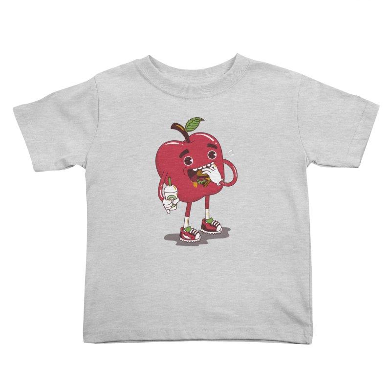 Junkapple Kids Toddler T-Shirt by nutz's Artist Shop