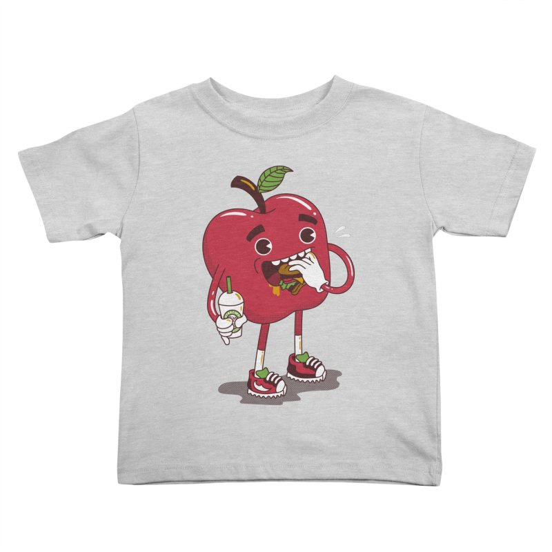 Junkapple Kids Toddler T-Shirt by nutz's Artist Shop