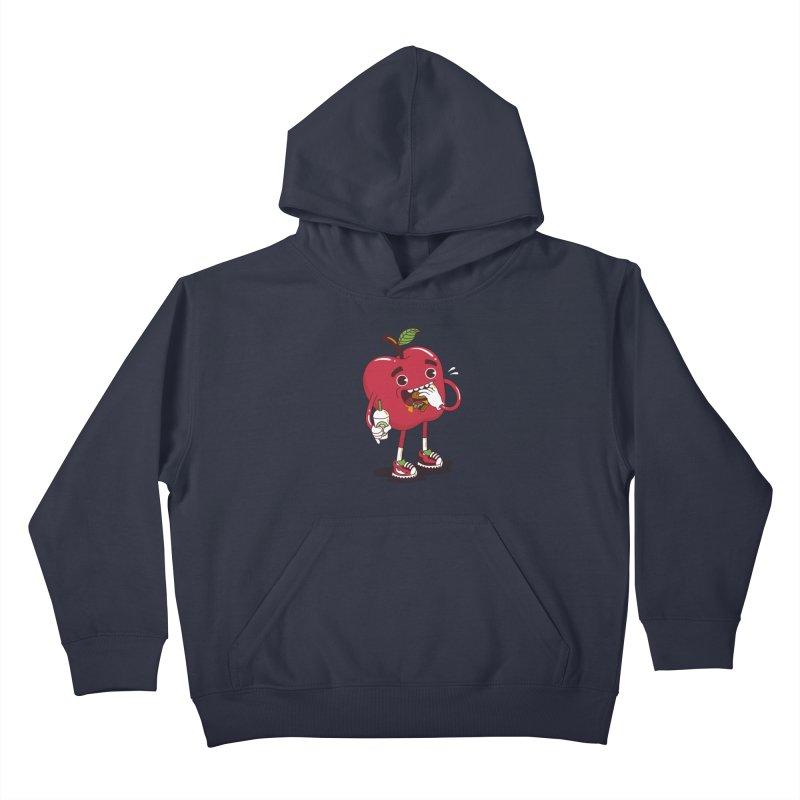 Junkapple Kids Pullover Hoody by nutz's Artist Shop