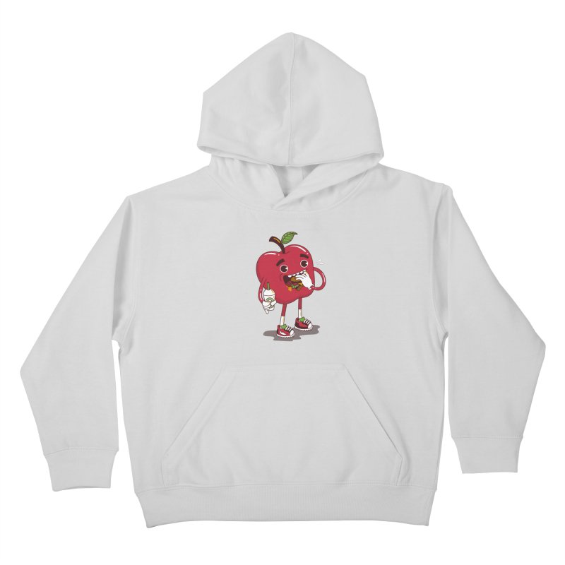 Junkapple Kids Pullover Hoody by nutz's Artist Shop