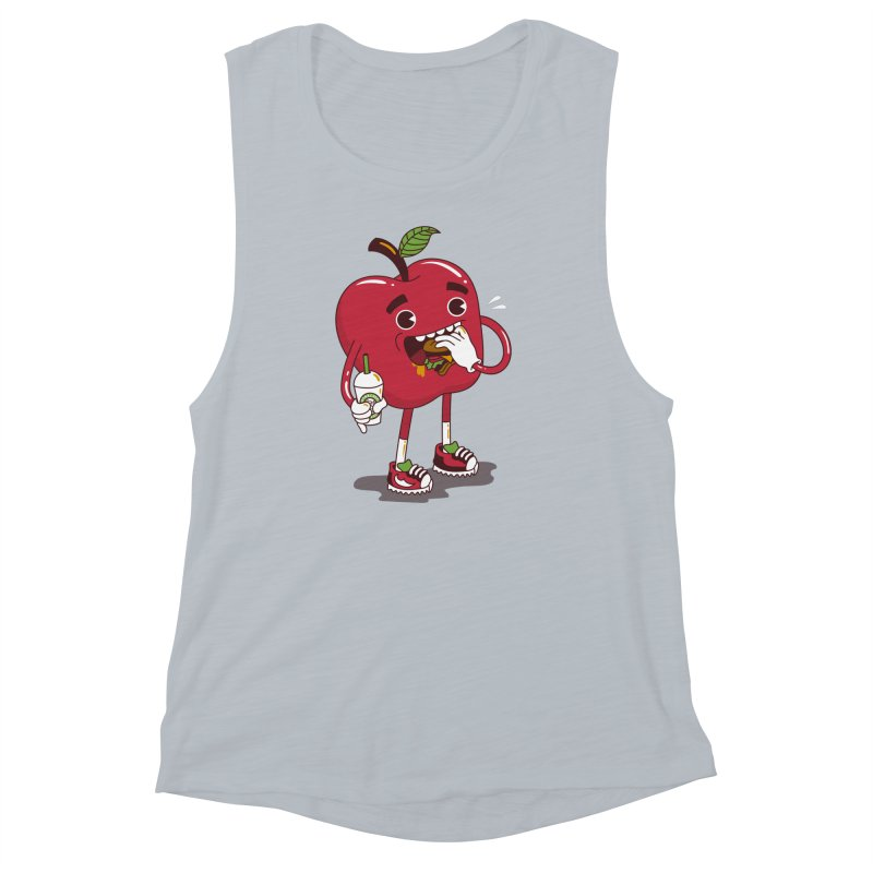 Junkapple Women's Muscle Tank by nutz's Artist Shop