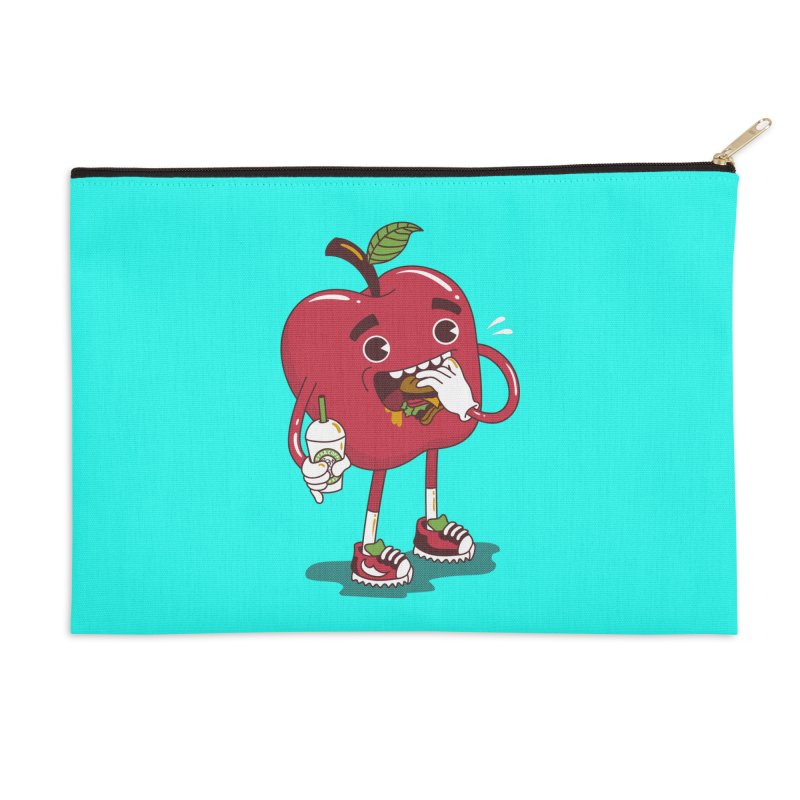 Junkapple Accessories Zip Pouch by nutz's Artist Shop