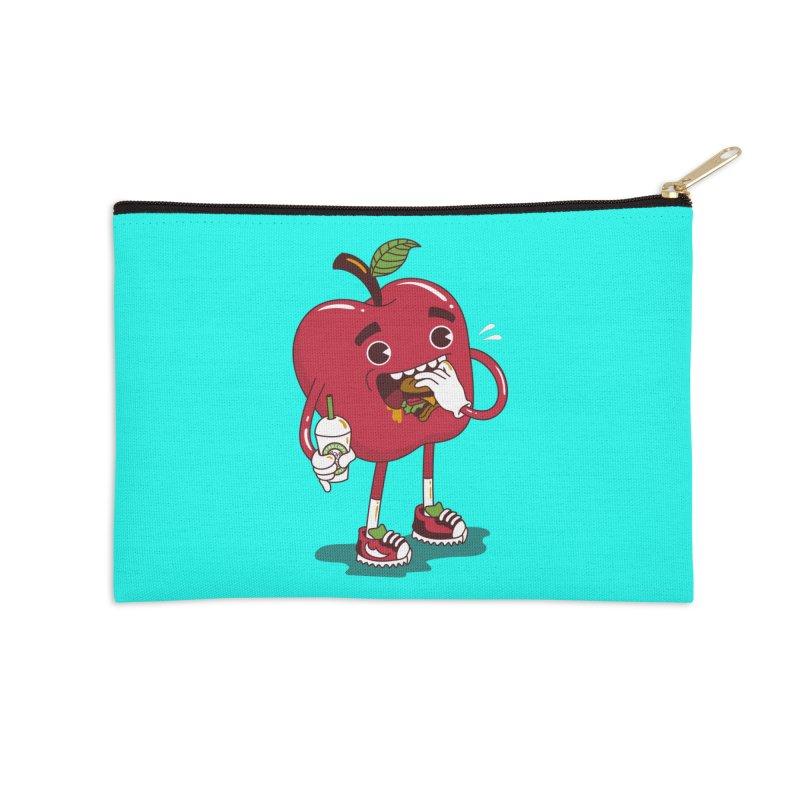 Junkapple Accessories Zip Pouch by nutz's Artist Shop