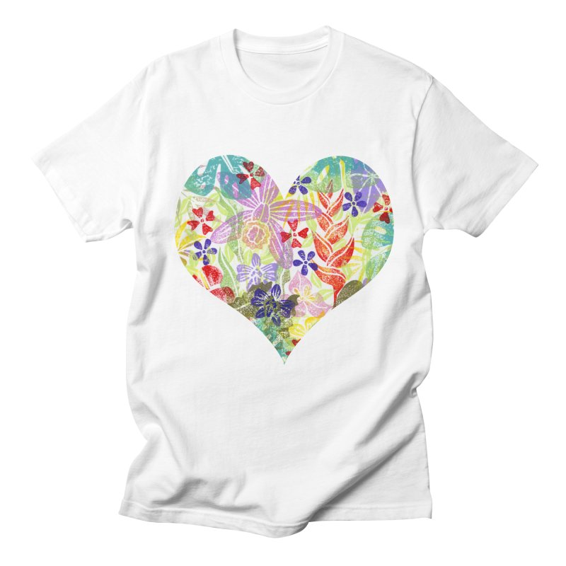 Jungle Love Men's Regular T-Shirt by Nuviart's Artist Shop