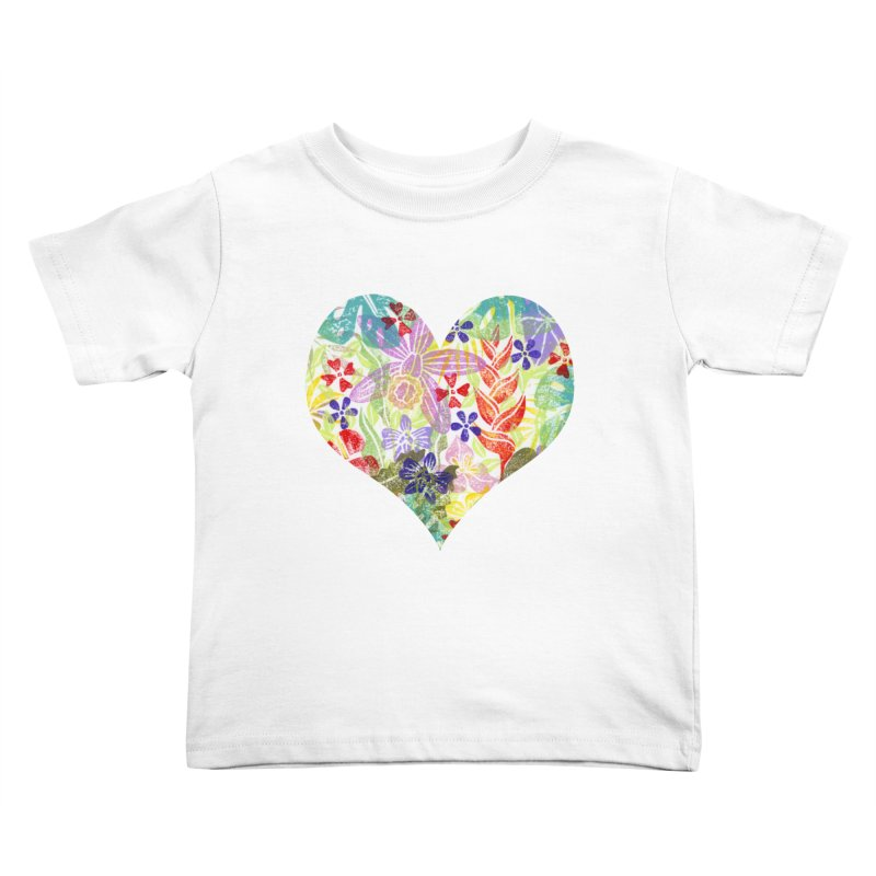 Jungle Love Kids Toddler T-Shirt by Nuviart's Artist Shop