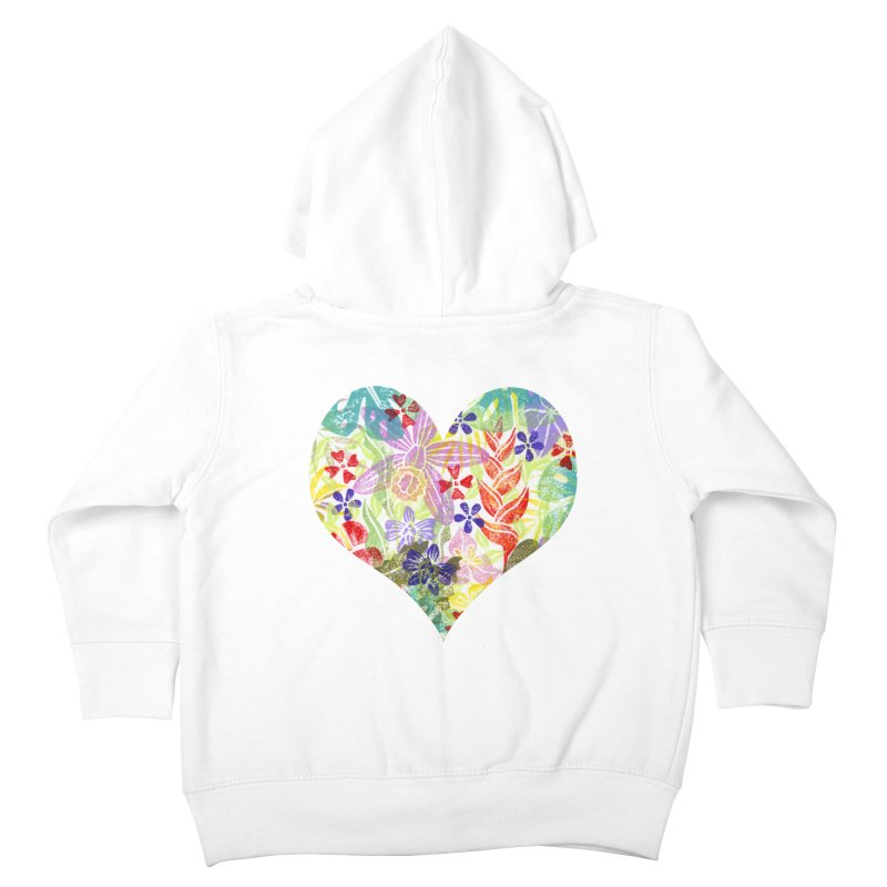 Jungle Love Kids Toddler Zip-Up Hoody by Nuviart's Artist Shop