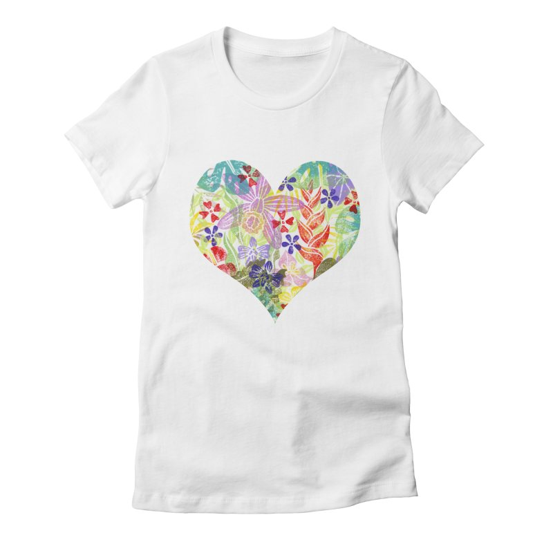Jungle Love Women's T-Shirt by Nuviart's Artist Shop