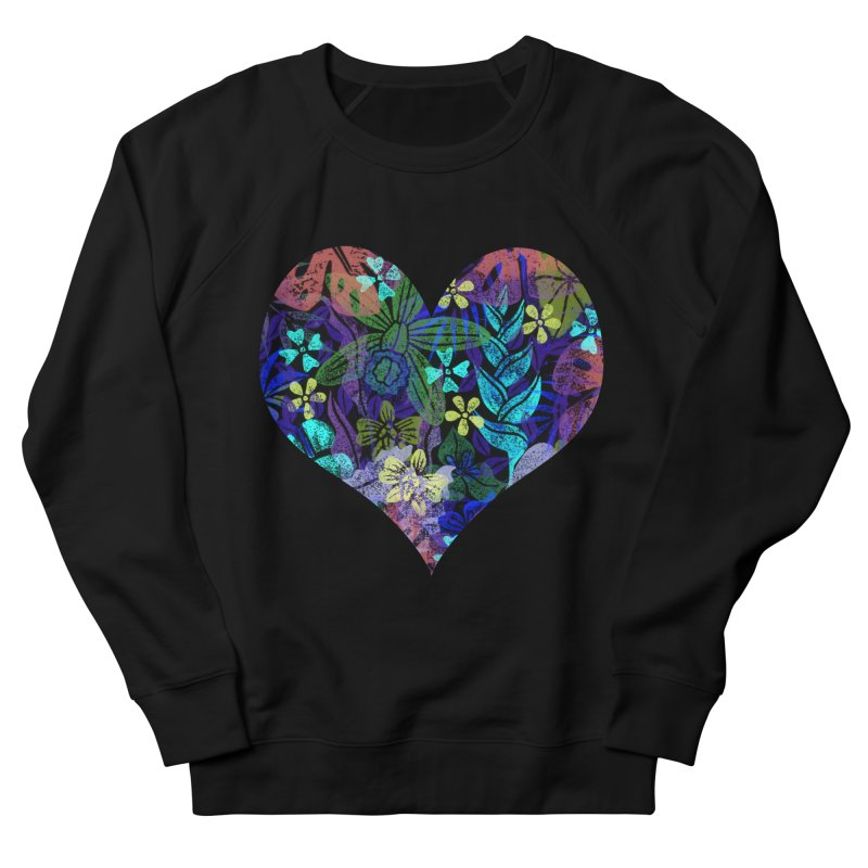 Night Jungle Love Women's Sweatshirt by Nuviart's Artist Shop
