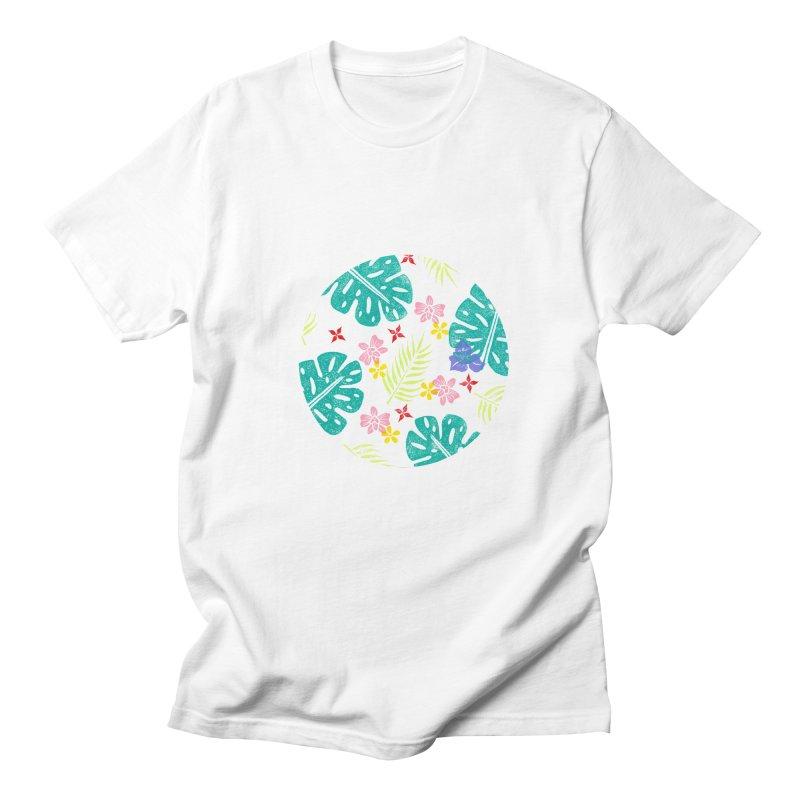 Plants Patterns Men's T-Shirt by Nuviart's Artist Shop