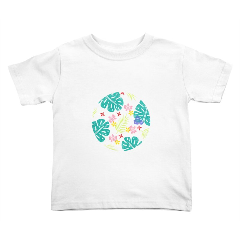 Plants Patterns Kids Toddler T-Shirt by Nuviart's Artist Shop