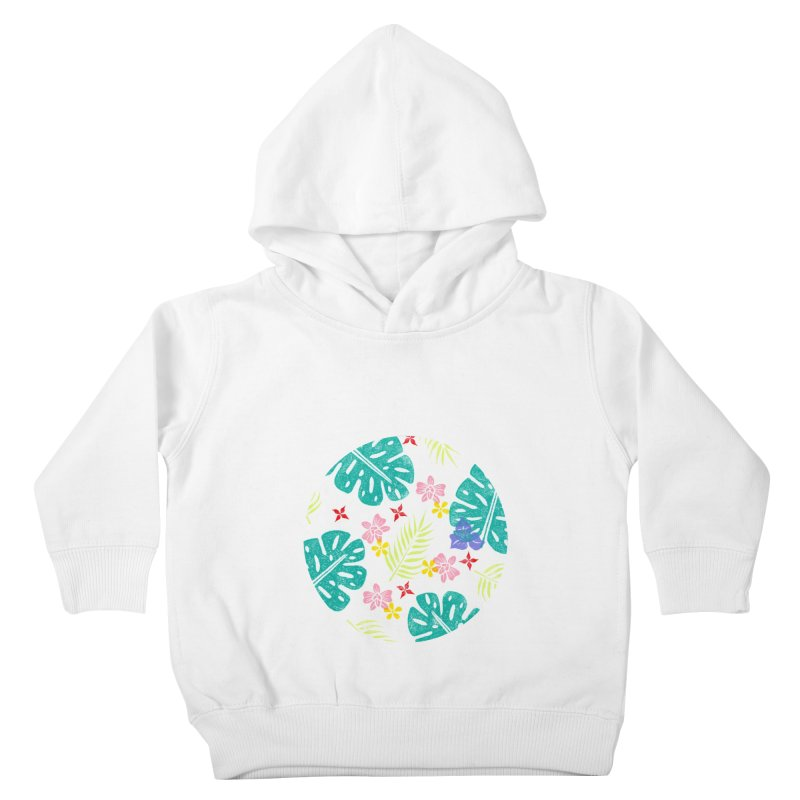 Plants Patterns Kids Toddler Pullover Hoody by Nuviart's Artist Shop