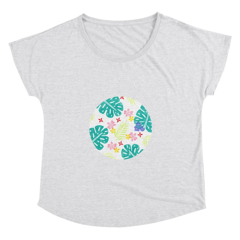 Plants Patterns Women's Dolman Scoop Neck by Nuviart's Artist Shop