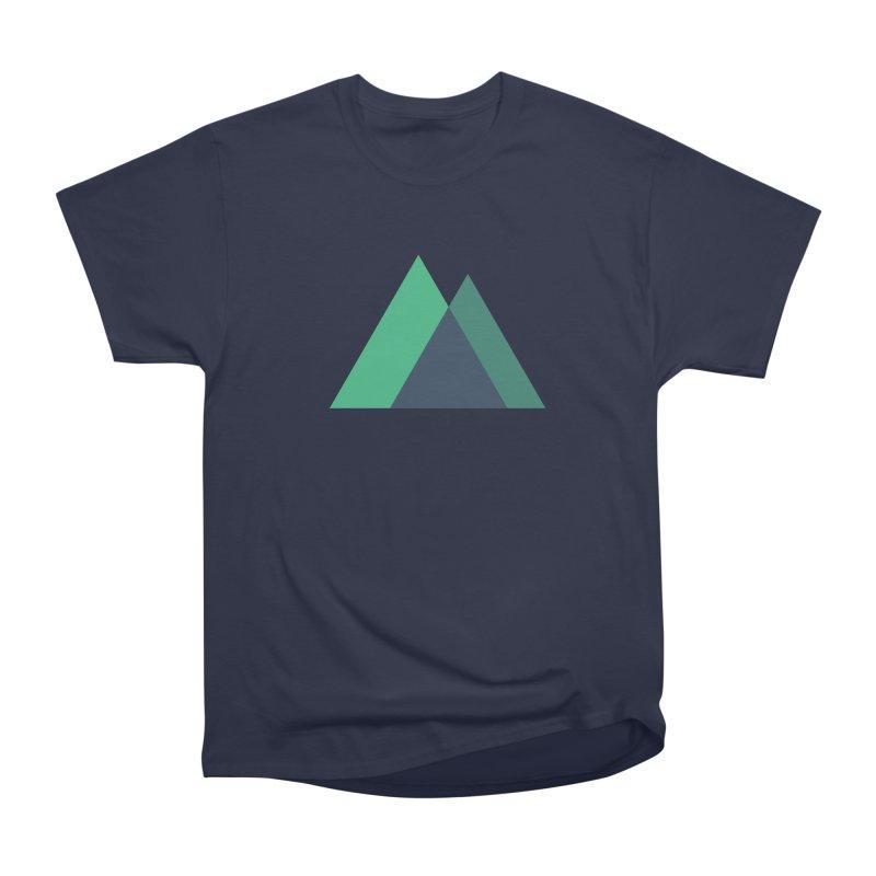 Nuxt Logo Men's Heavyweight T-Shirt by The Nuxt Shop