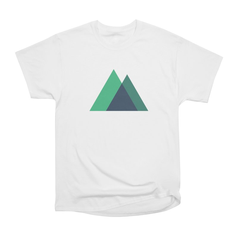 Nuxt Logo Women's Heavyweight Unisex T-Shirt by The Nuxt Shop