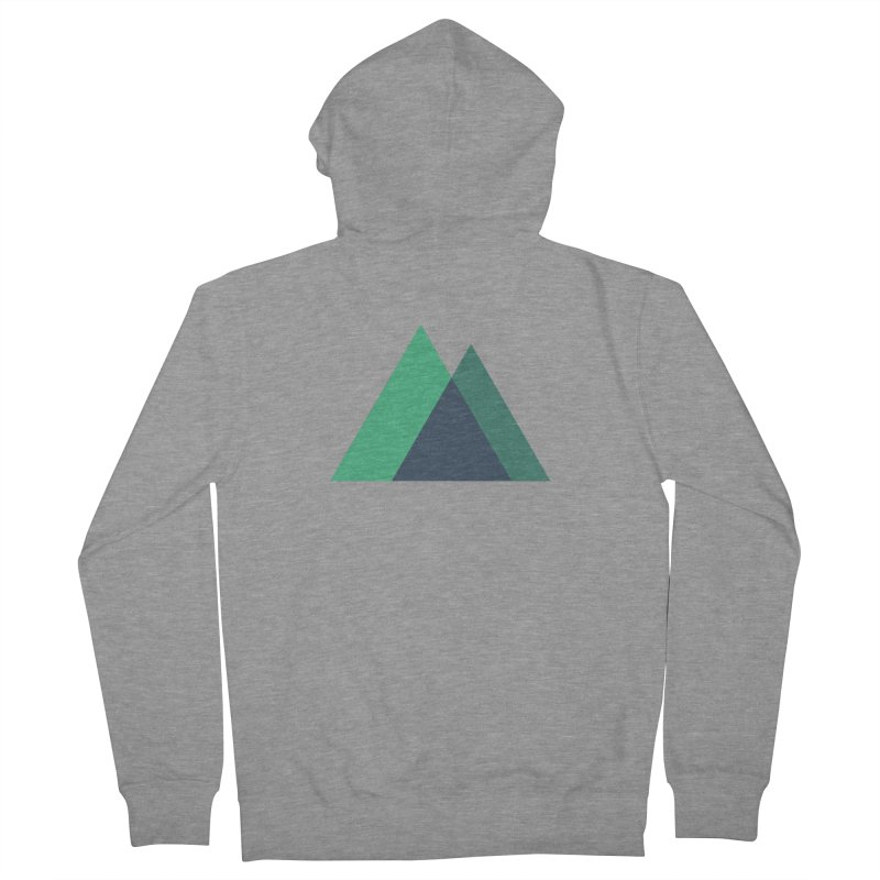 Nuxt Logo Men's French Terry Zip-Up Hoody by The Nuxt Shop