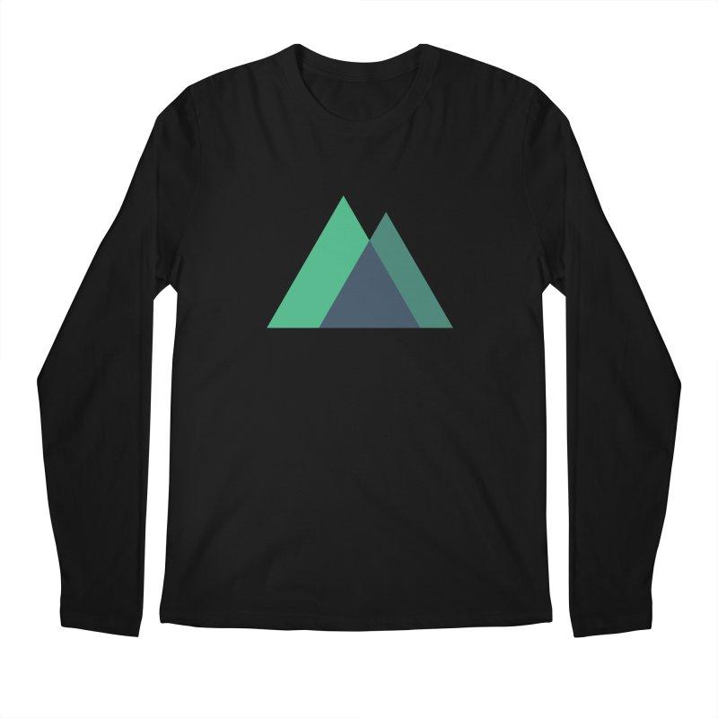 Nuxt Logo Men's Regular Longsleeve T-Shirt by The Nuxt Shop