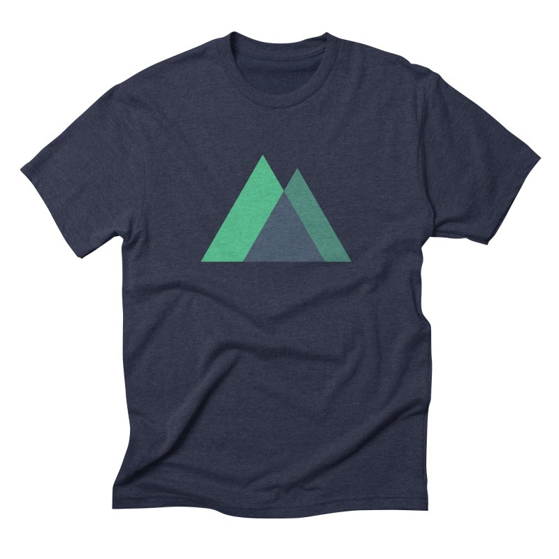 Nuxt Logo Men's Triblend T-Shirt by The Nuxt Shop